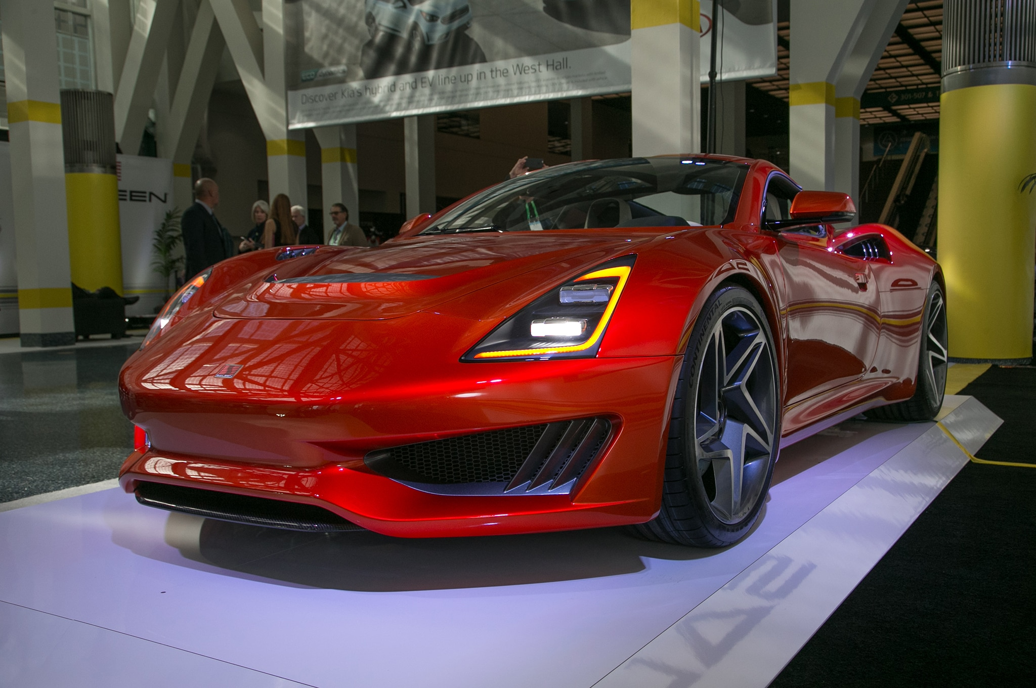 2018 Saleen S1 Front Three Quarter