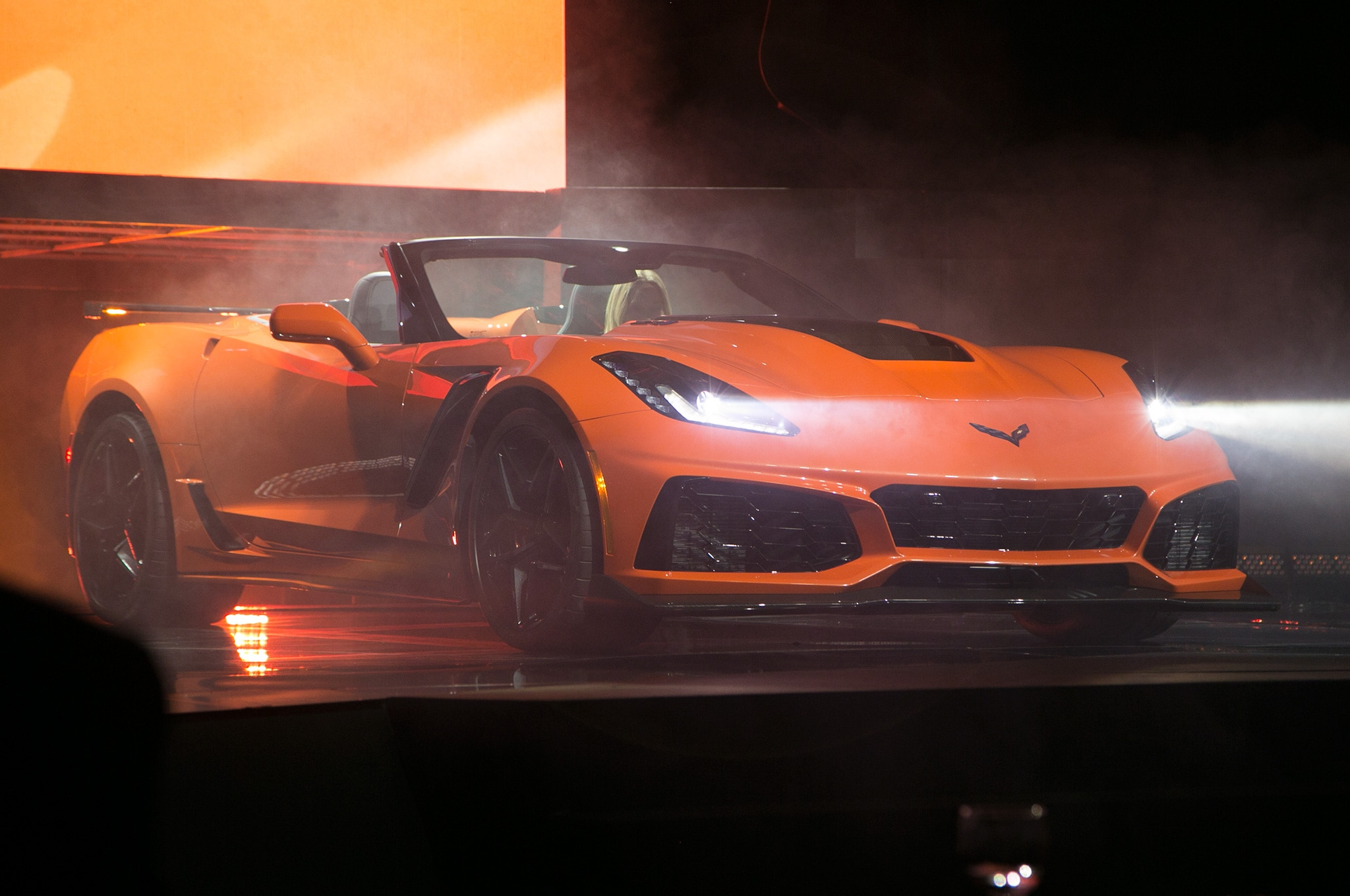 2019 Chevrolet Corvette ZR1 Convertible Drops Top in L.A. | Automobile Magazine