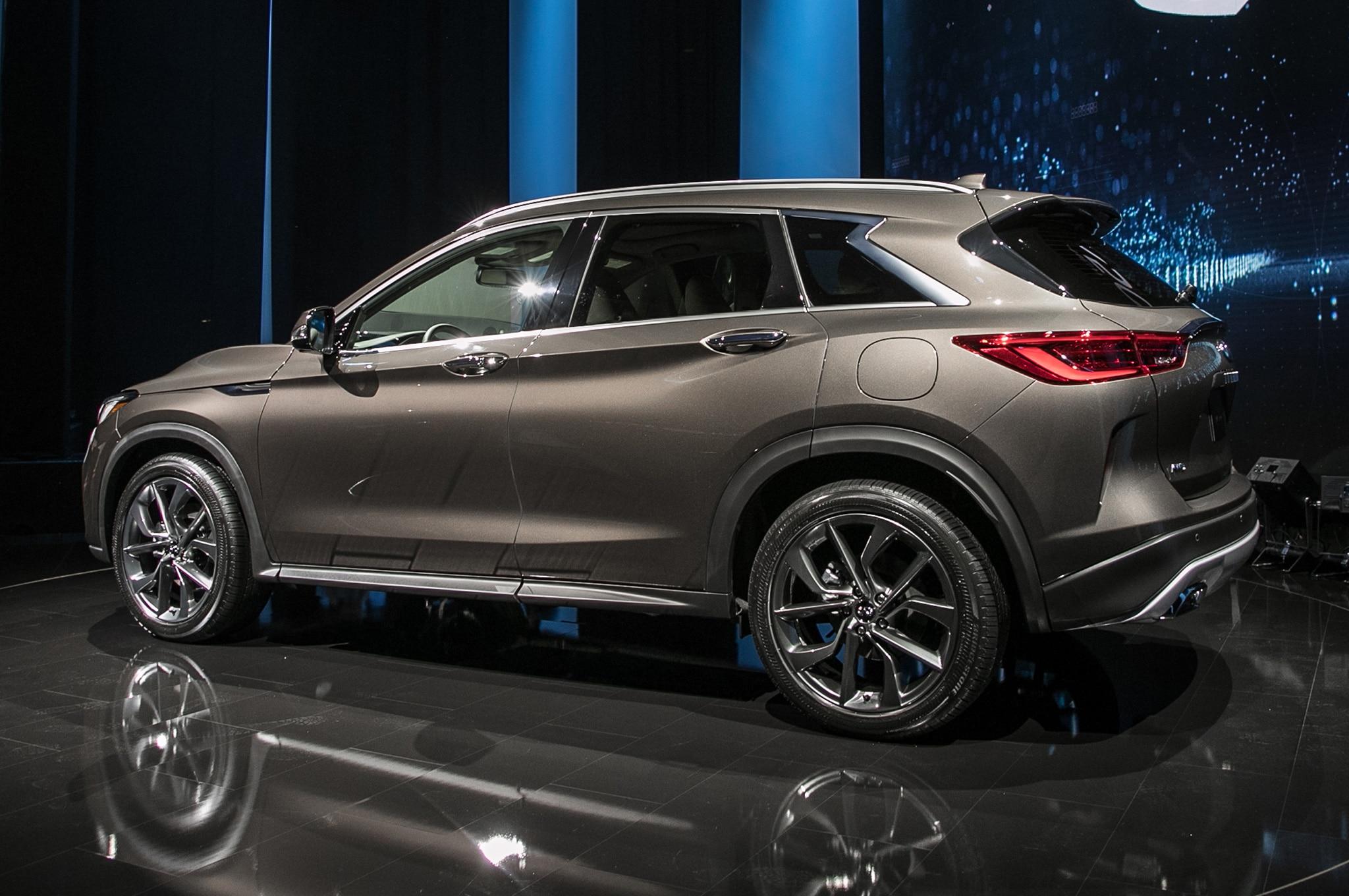 2019 infiniti qx50 revealed ahead of 2017 los angeles auto show