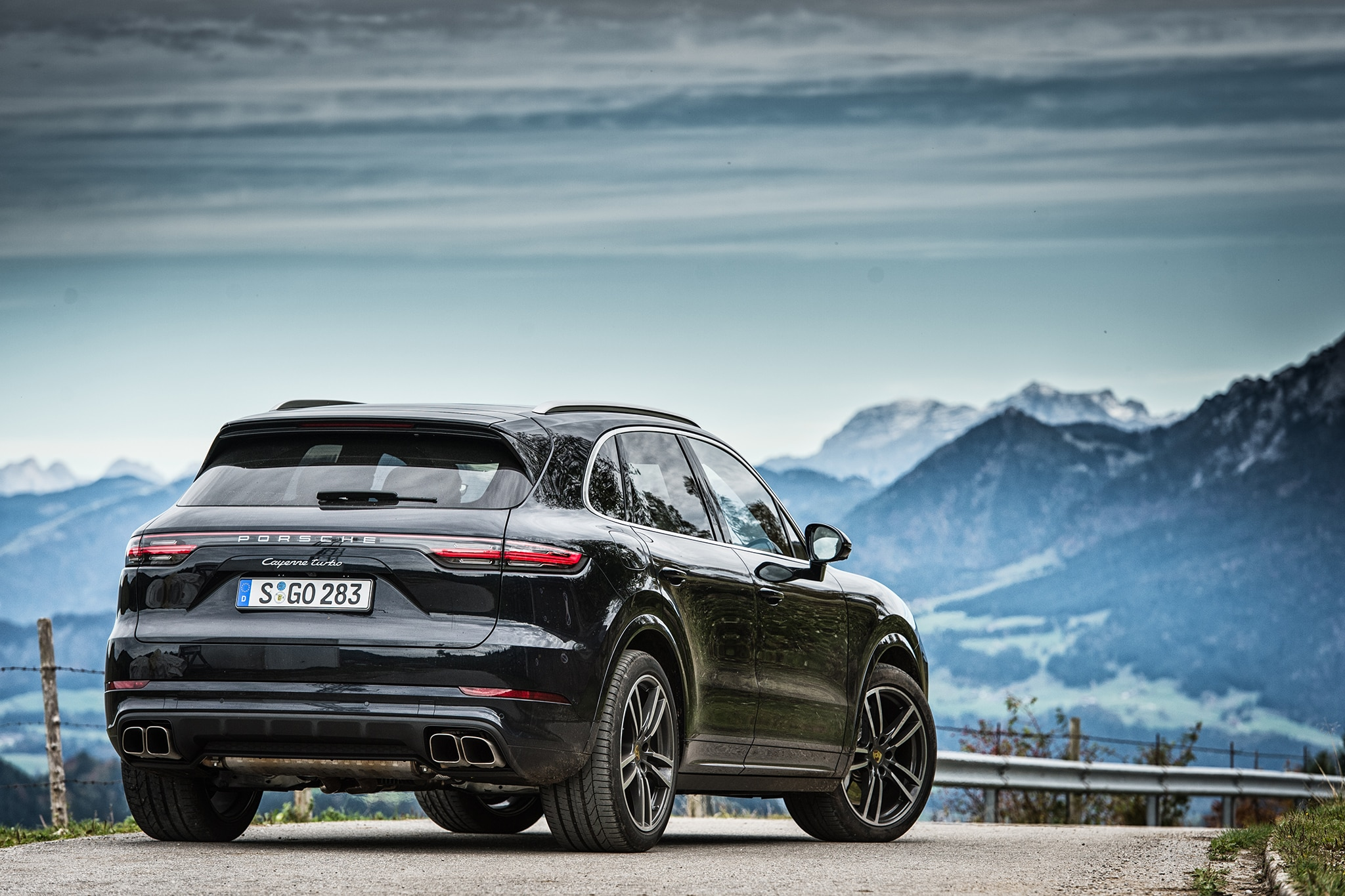 2019 porsche cayenne turbo first drive review automobile magazine. Black Bedroom Furniture Sets. Home Design Ideas