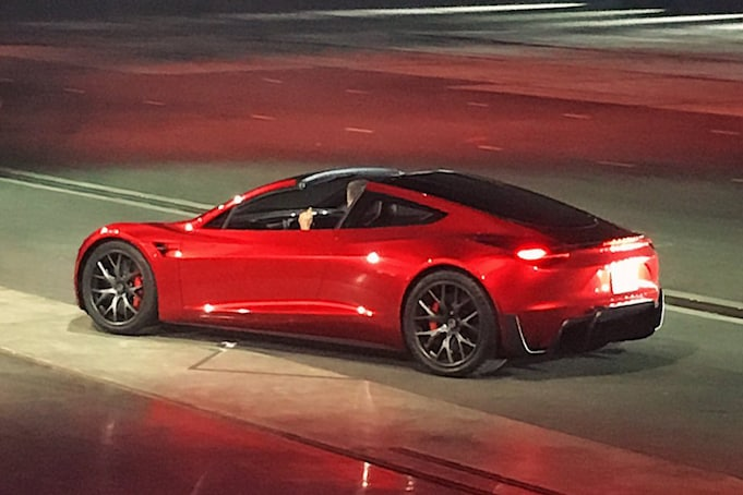 2020 Tesla Roadster Unveiled