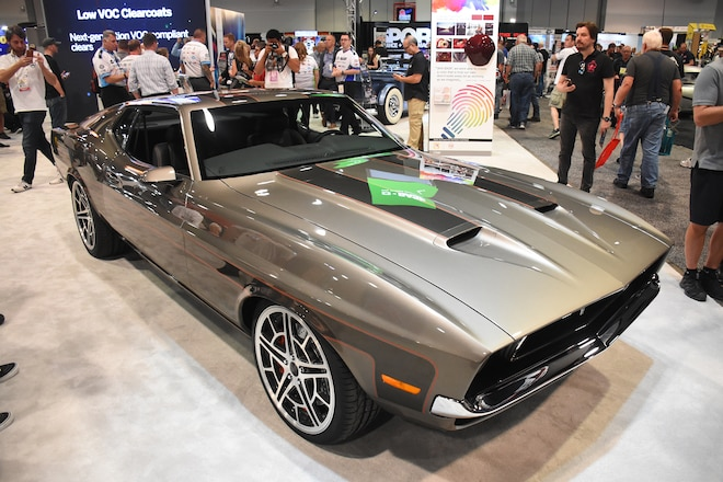 Best Ford Mustangs Of Sema 2017 Automobile Magazine