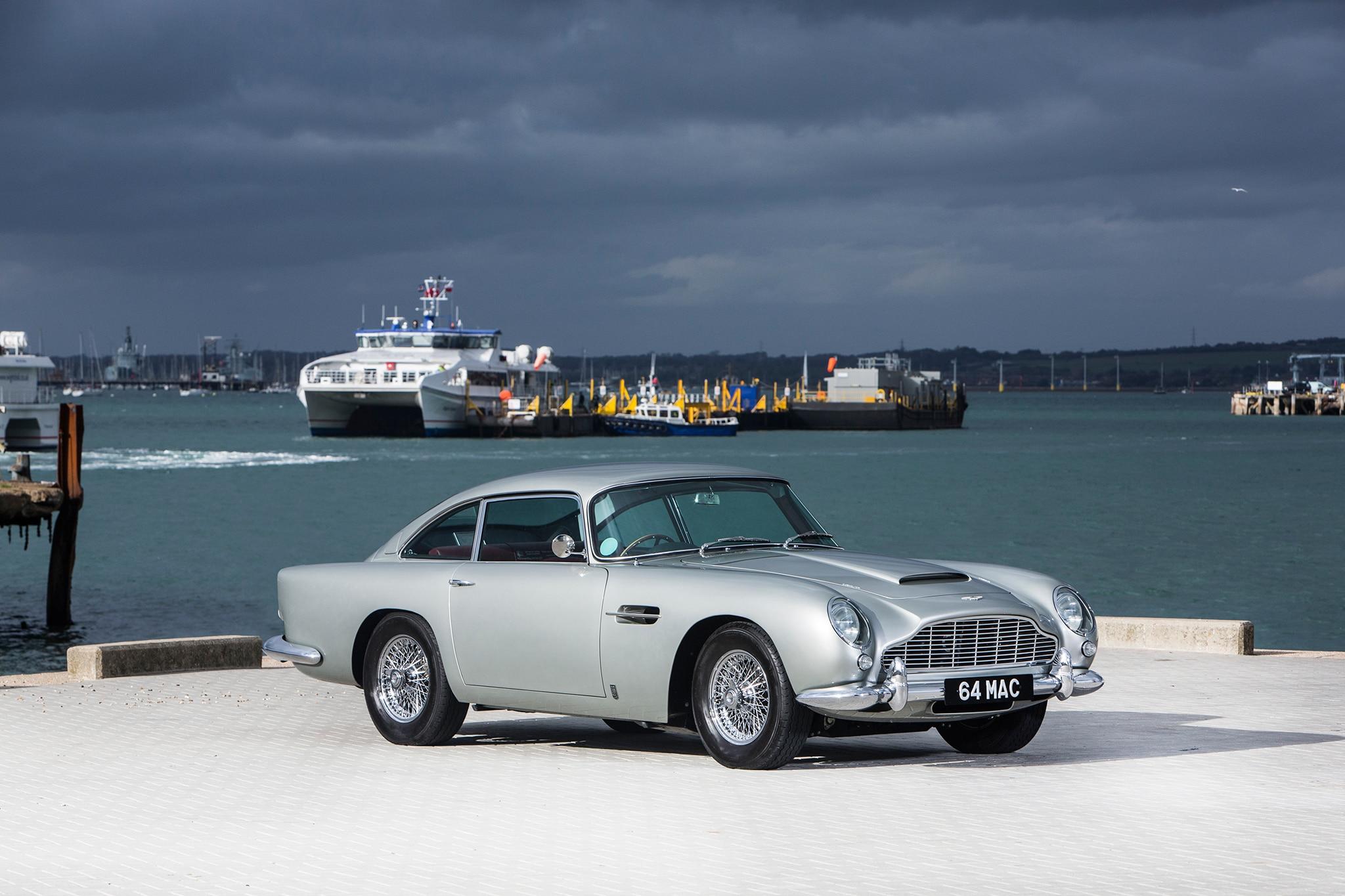Bonhams to Auction Ex-Paul McCartney Aston Martin DB5 and Ex-Ringo