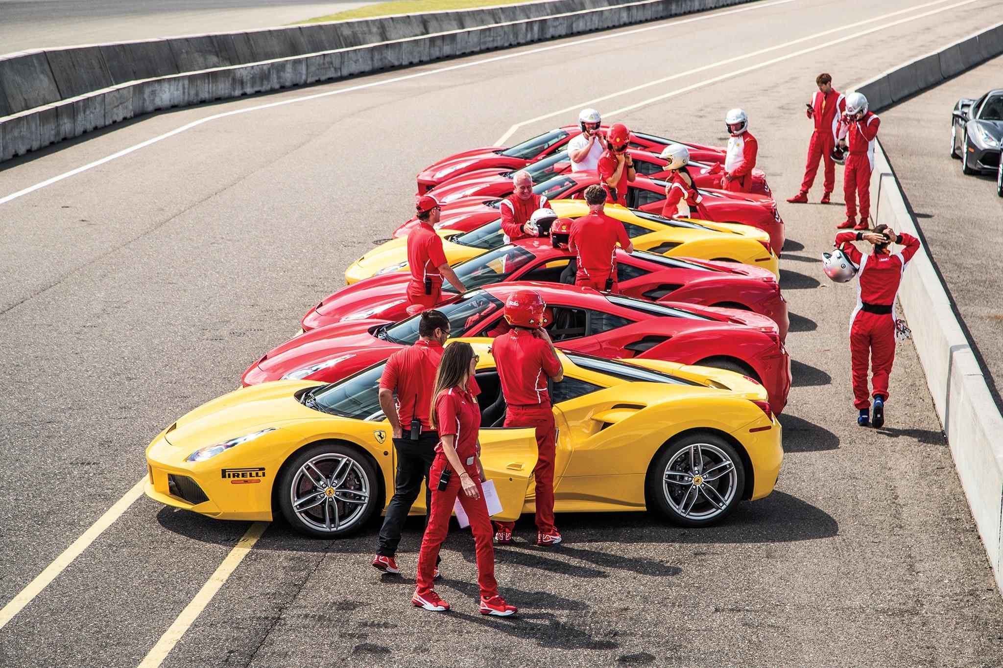 Be ing a Ferrari 488 Challenge Race Driver