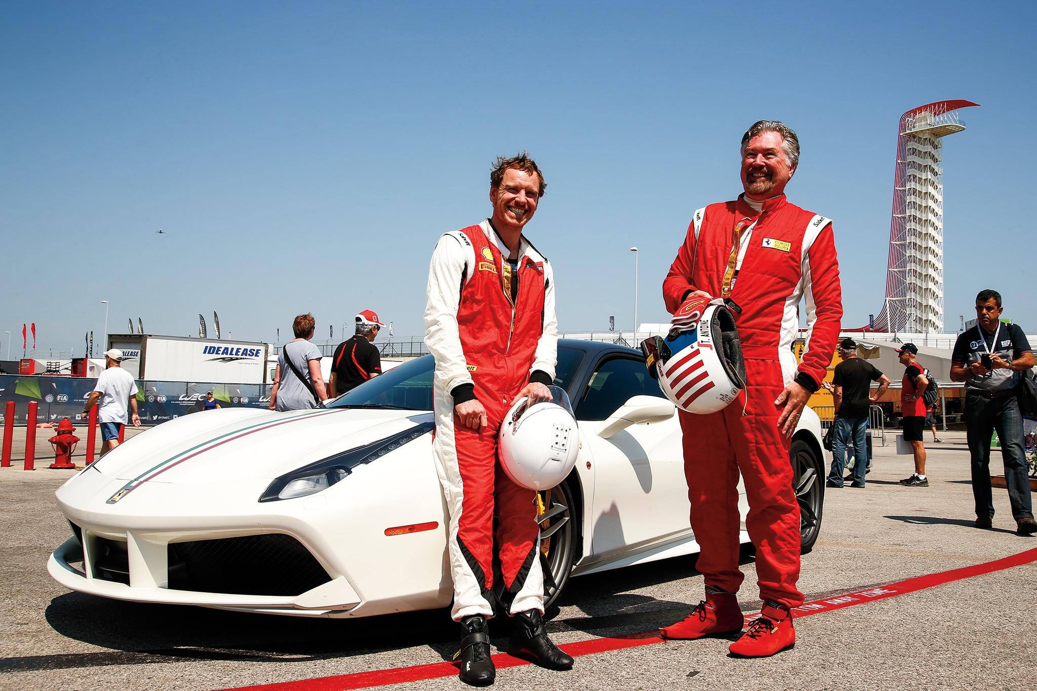 Rockin Role Ferrari Challenge Race Driver Michael Fassbender