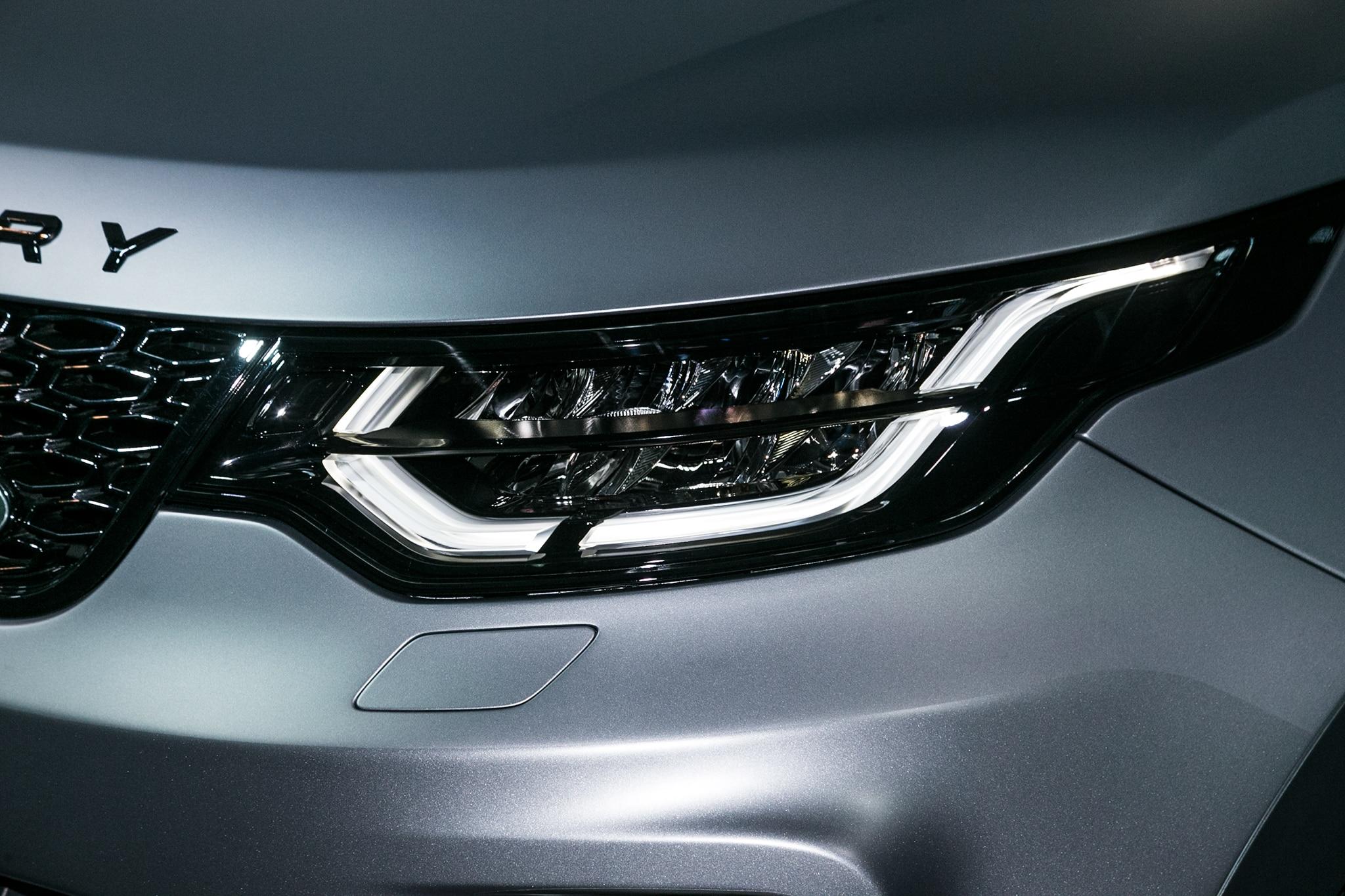 Land Rover Discovery SVX Concept Headlight