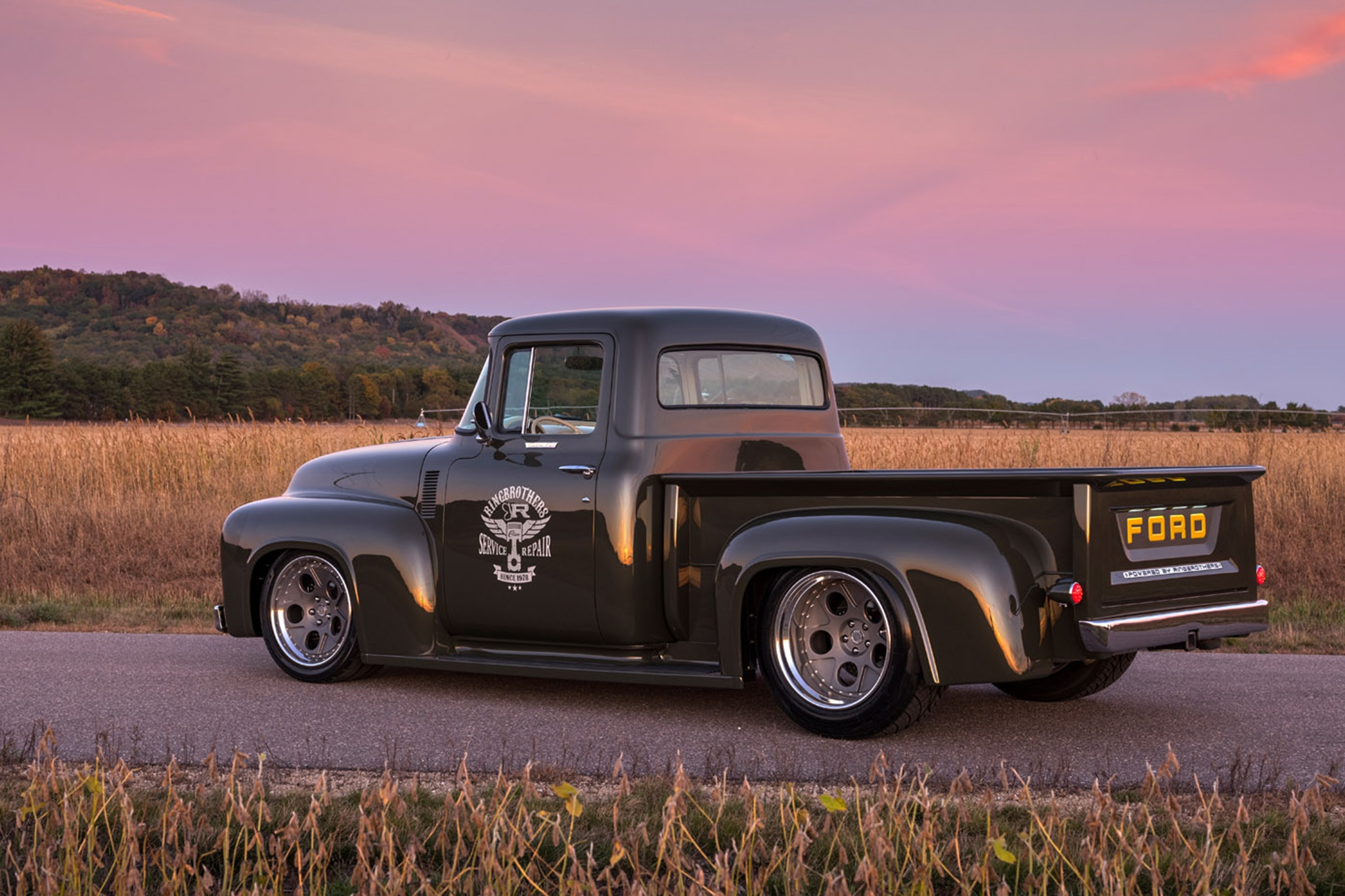 1956 Ford F 100 by Ringbrothers is a Real Gem