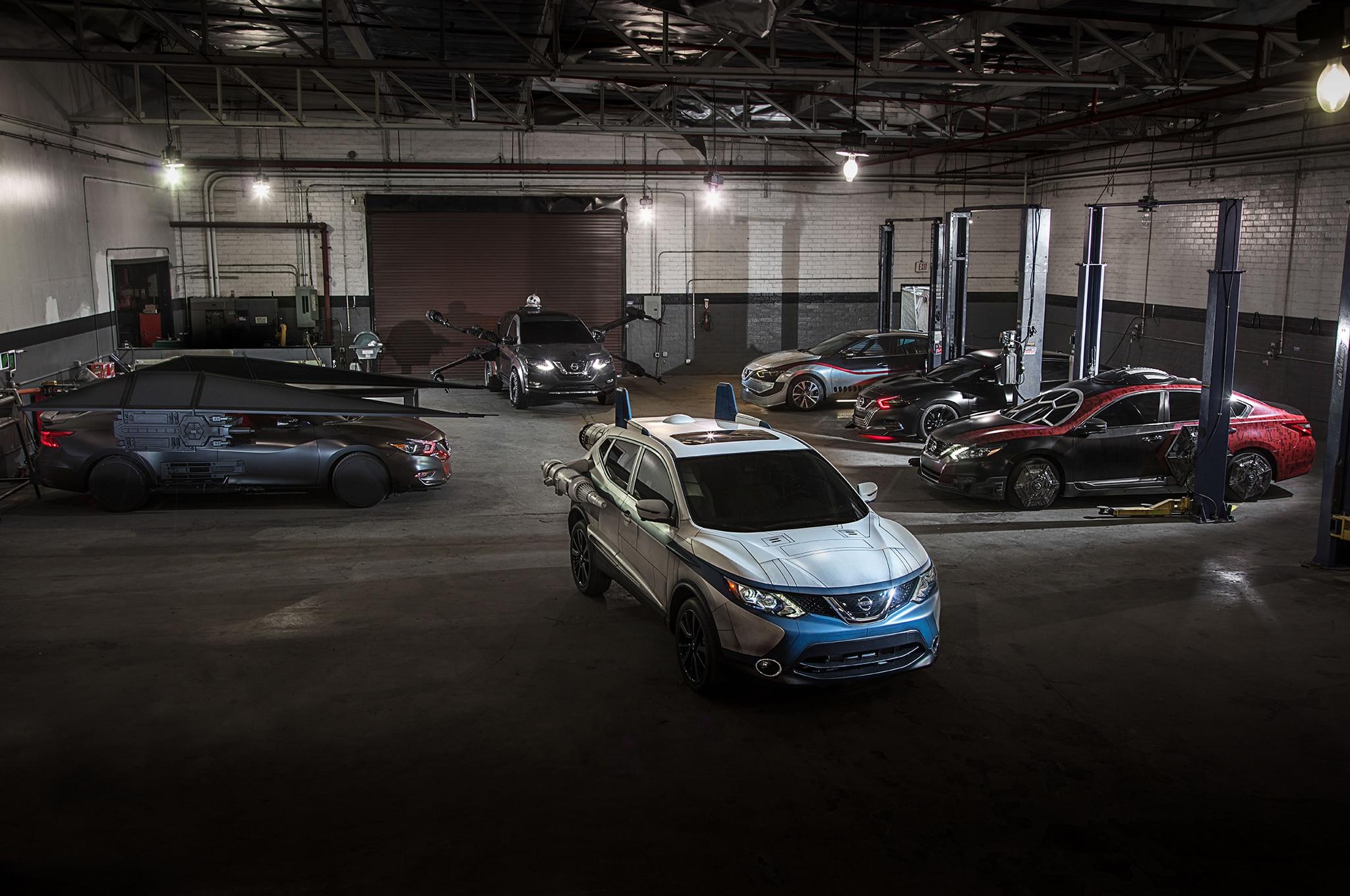 Star Wars Nissan Show Cars