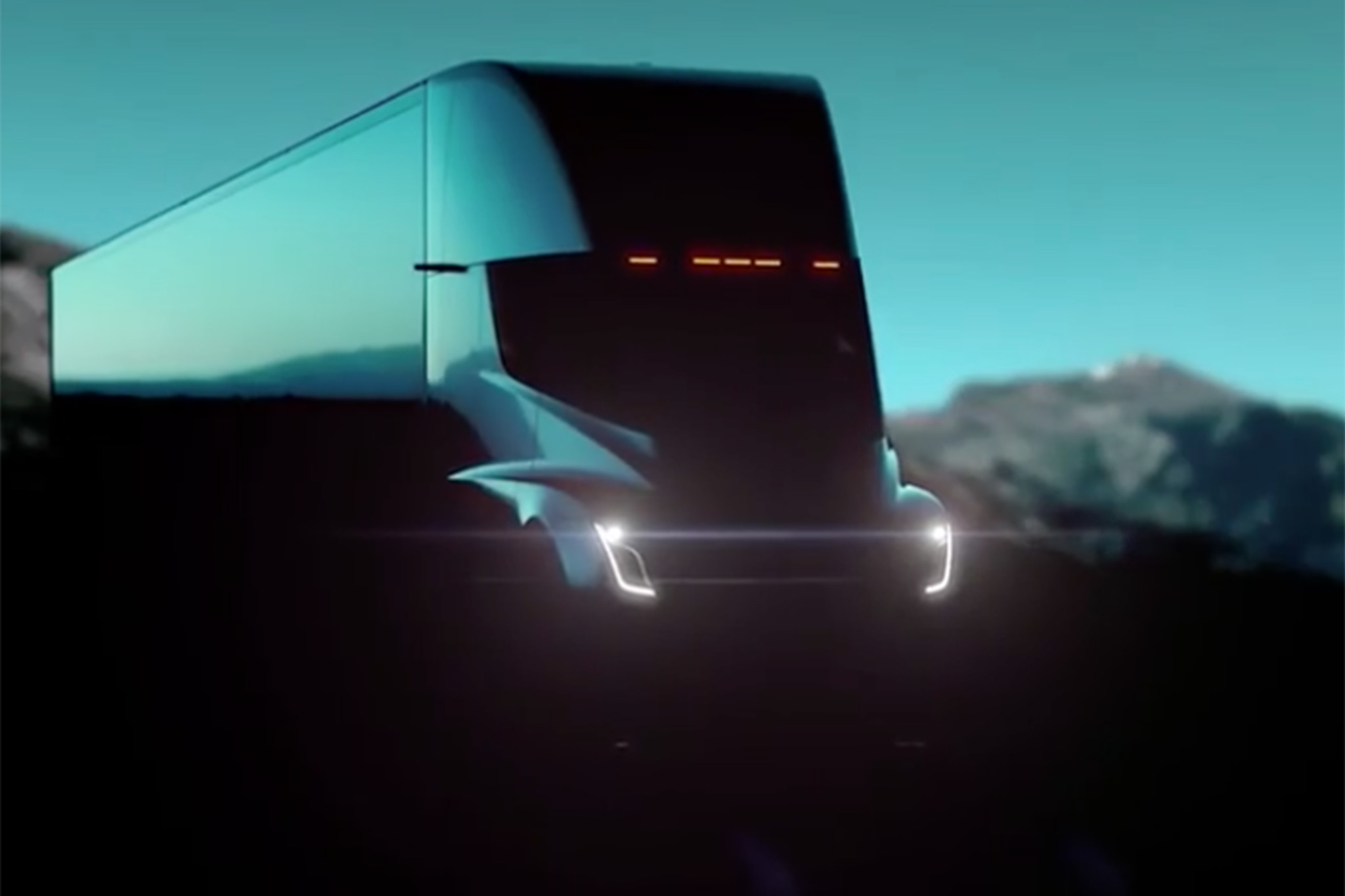 Official Tesla Semi Truck Video Revealed Automobile Magazine