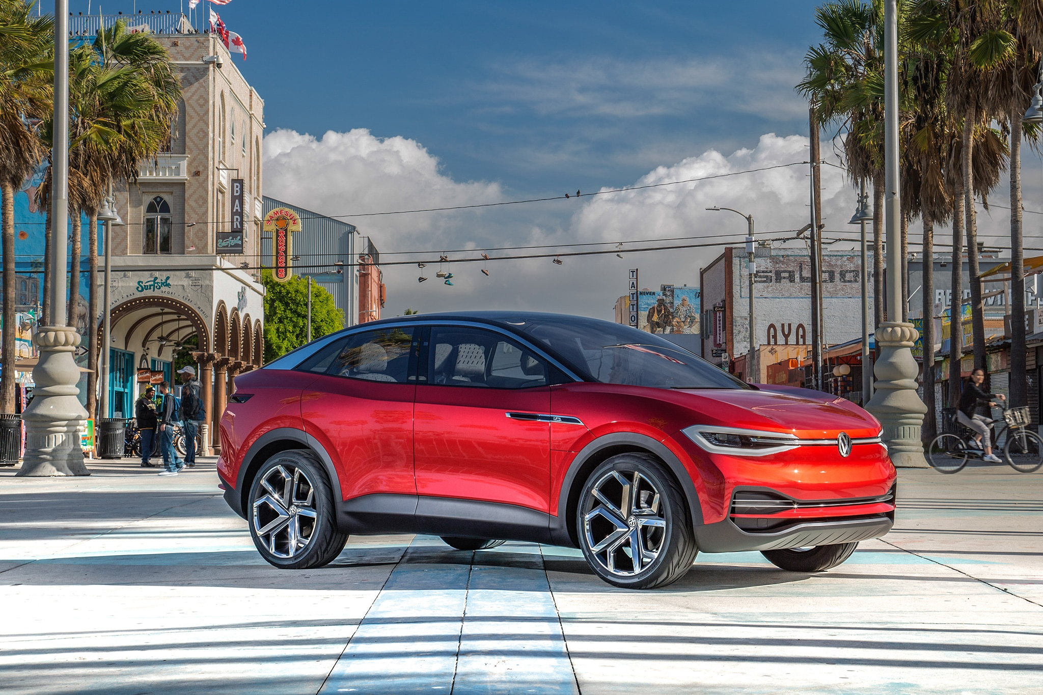VW ID Crozz Concept Front Three Quarters