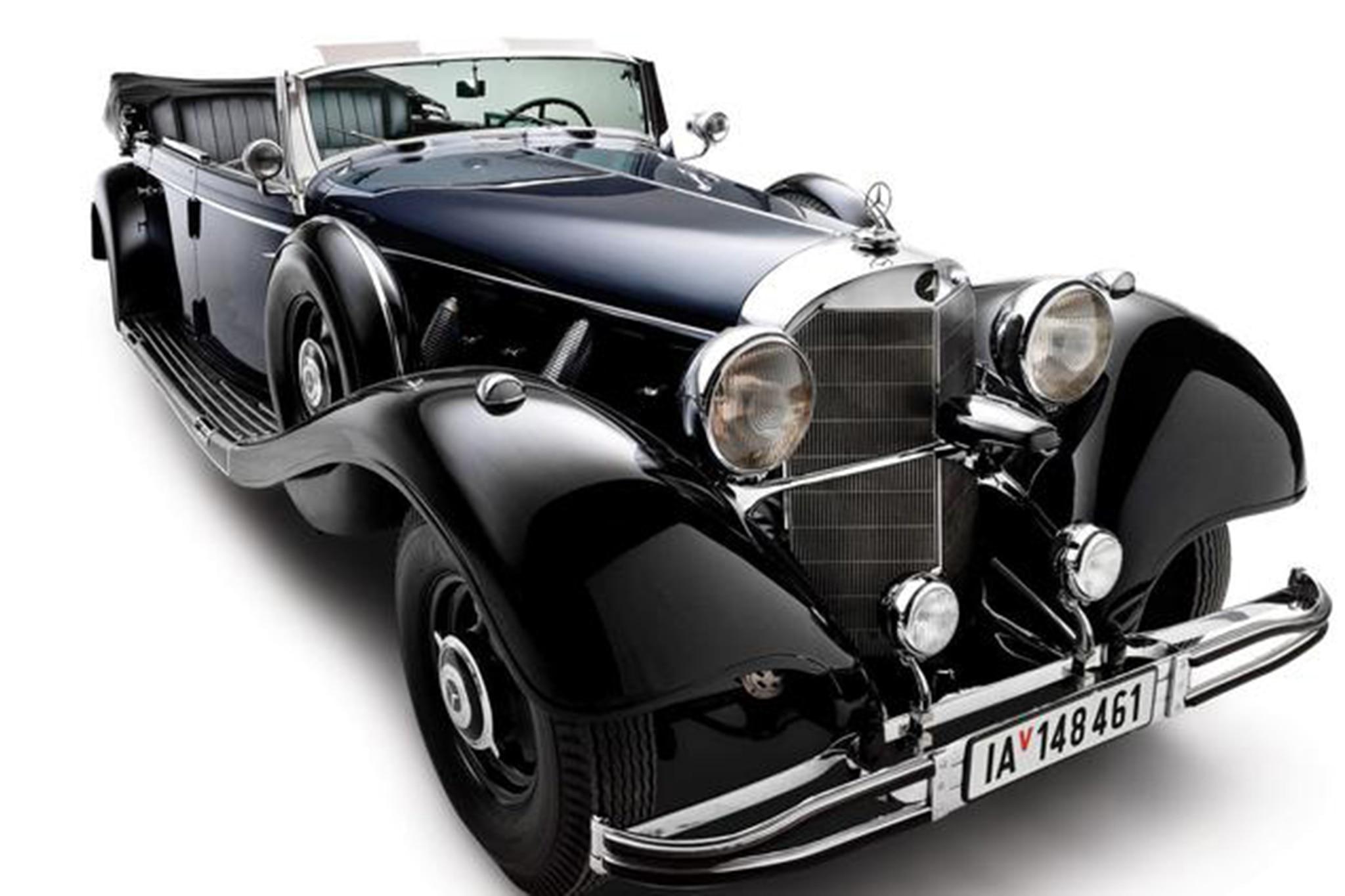 Hitler's 1939 Mercedes-Benz Goes Under the Hammer ...