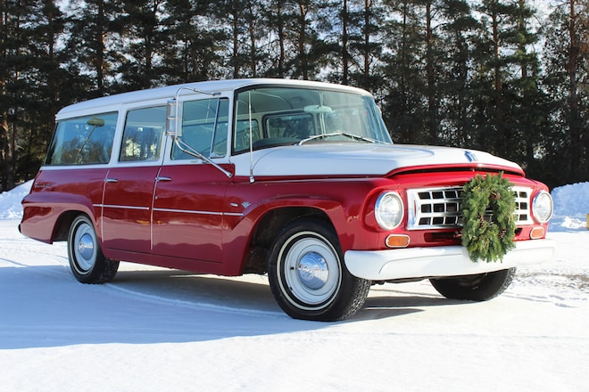 1963 International Harvester Travelall Just Listed Front Three Quarters 2