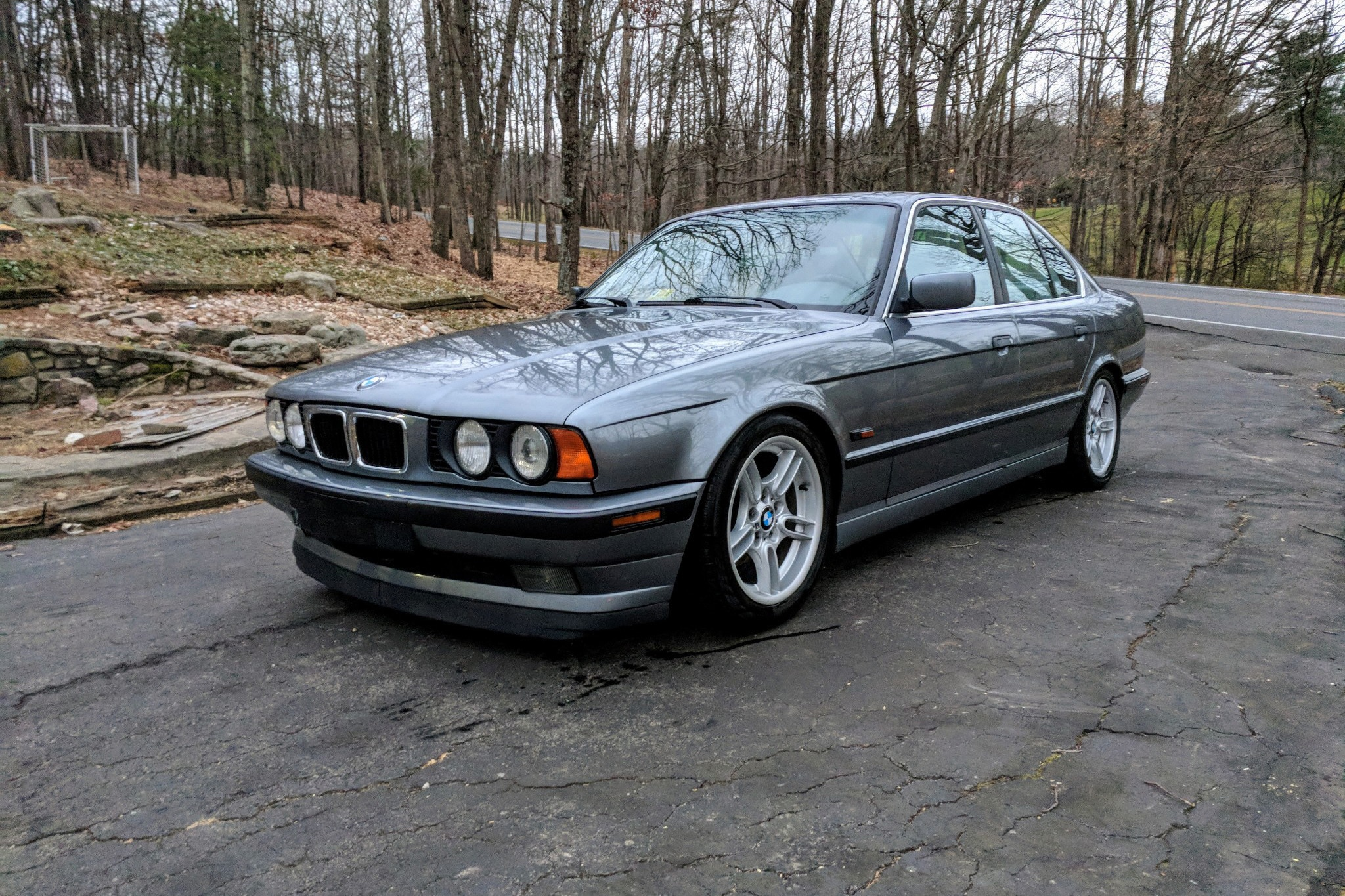1996 BMW 540i Just Listed Front Three Quarters