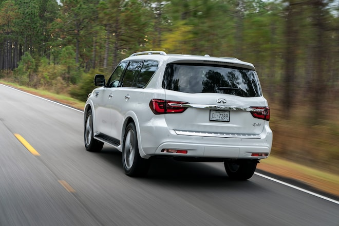 2018 Infiniti Qx80 First Drive Review Automobile Magazine