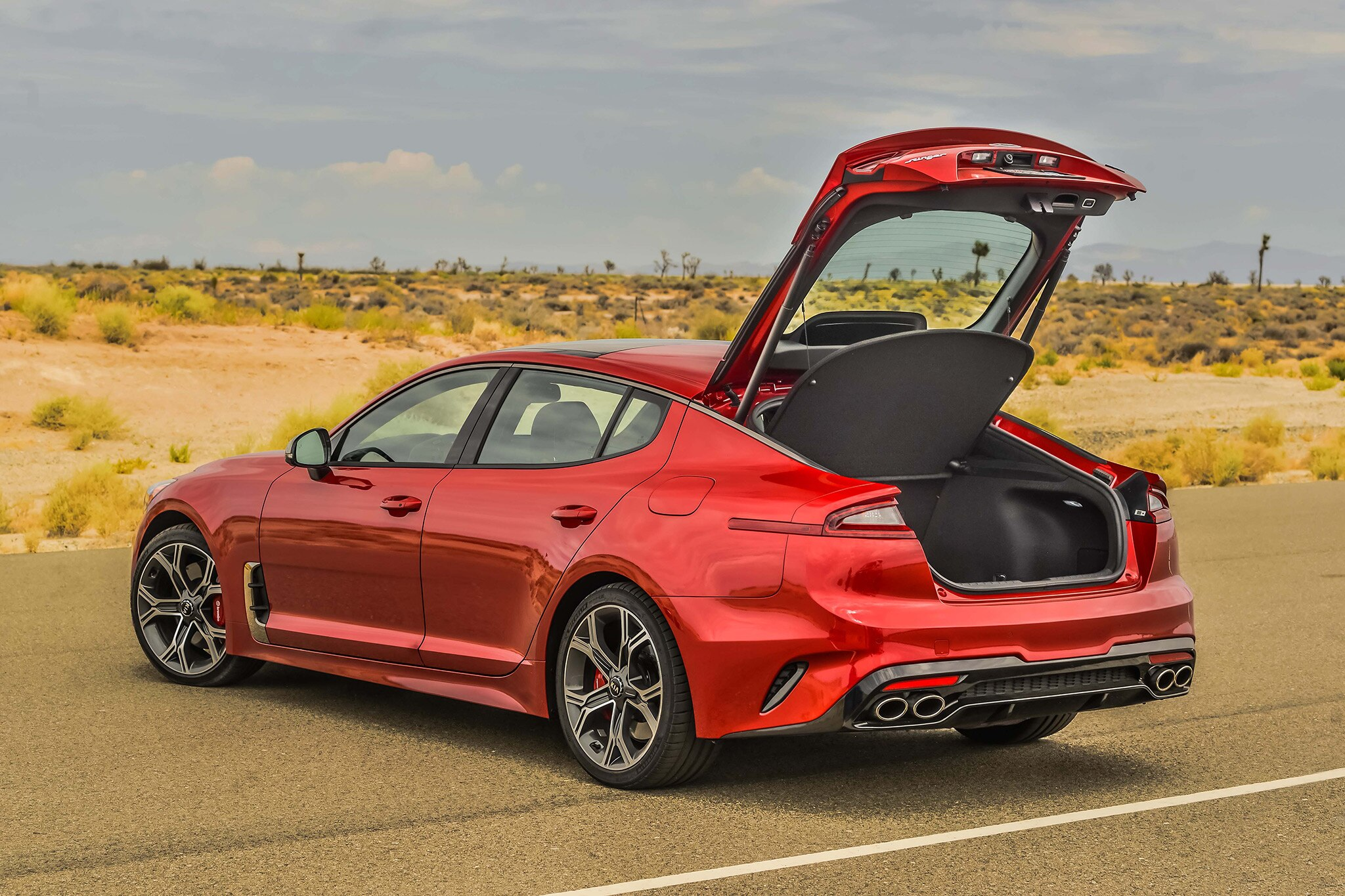 2018 Kia Stinger Gt 3 3t Rwd One Week Review Automobile Magazine