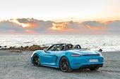 2018-Porsche-718-Boxster-GTS-rear-three-