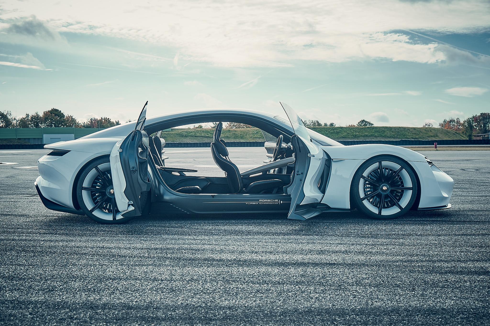 Porsche Announces Investment In Electrification Mission E