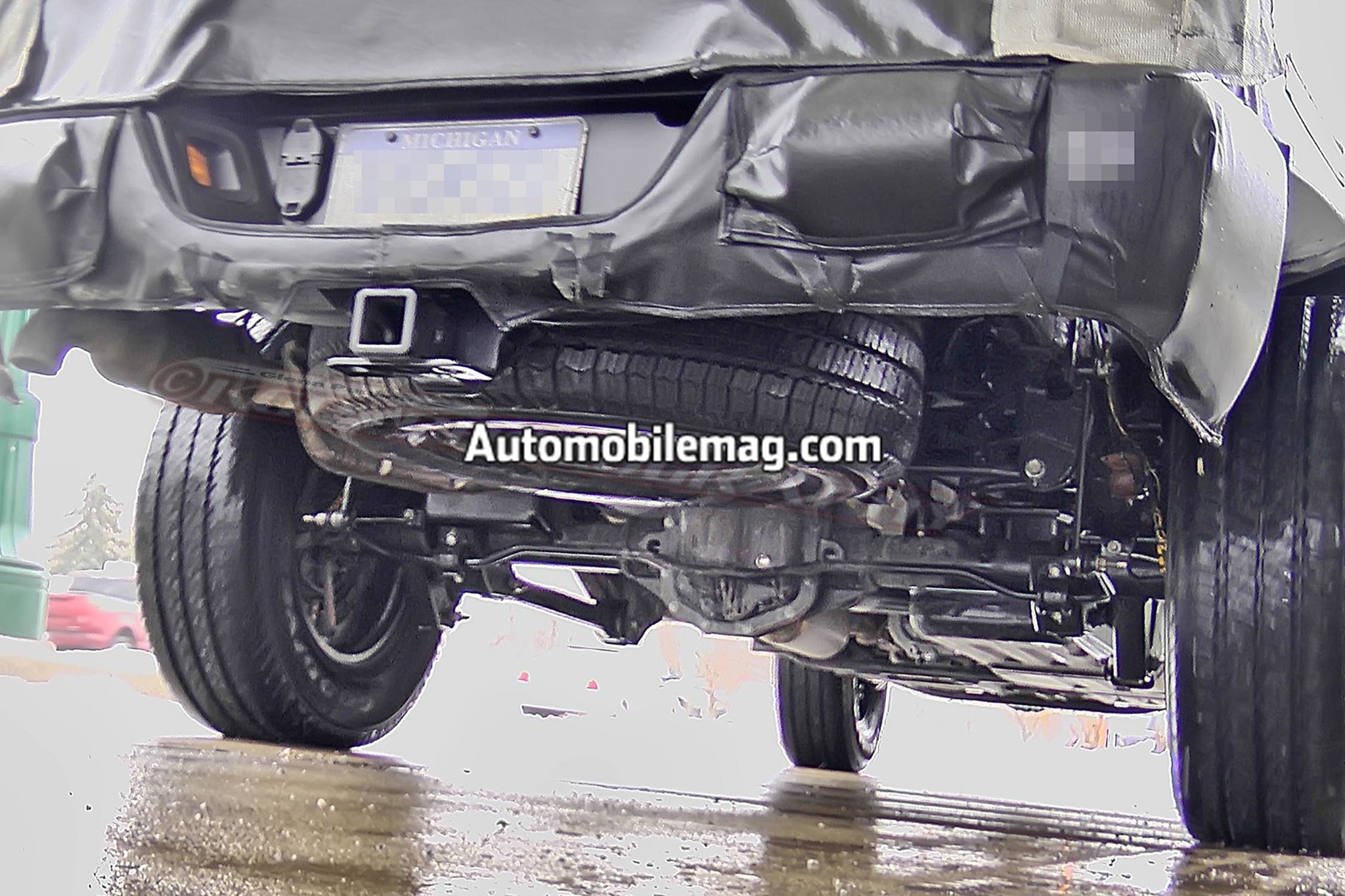 Jeep Wrangler Pickup Prototype Gets More Than Just A Bed Leak Jk Show