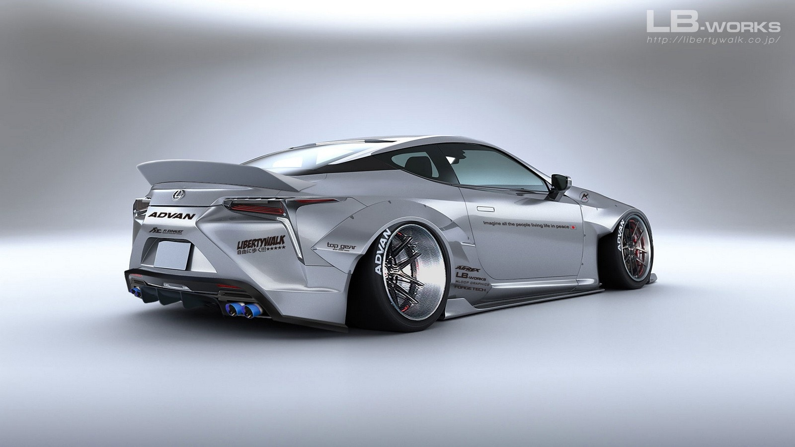 Liberty Walk Lexus Lc 500 Looks Ludicrous Automobile Magazine