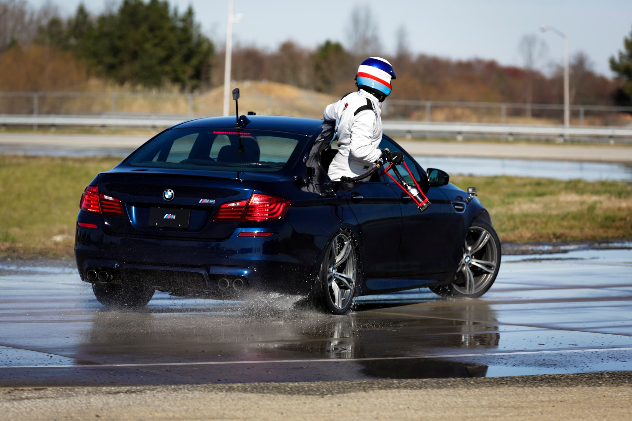 Bmw Reclaims Guinness World Record For Longest Drift With 2325 Mile