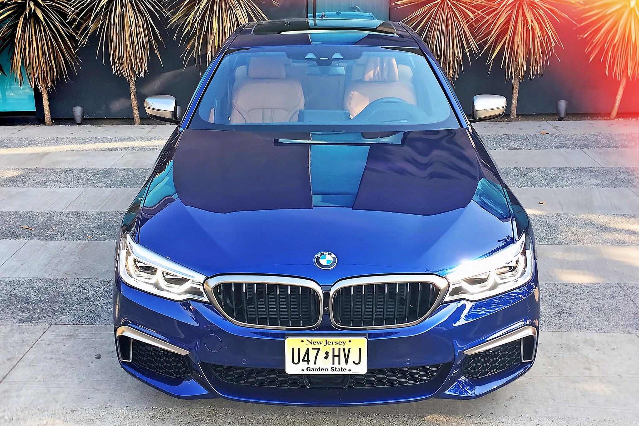 2018 BMW M550i XDrive Front