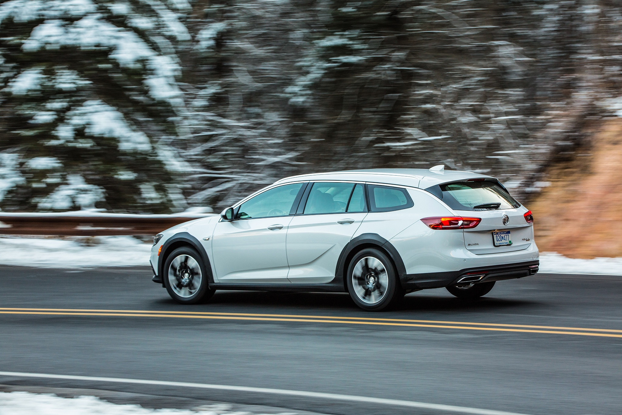First Drive 2018 Buick Regal Tourx Automobile Magazine