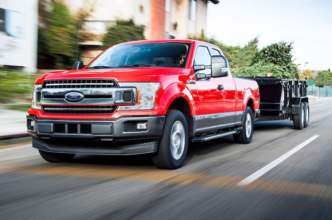 2018 Ford F 150 Diesel In Red