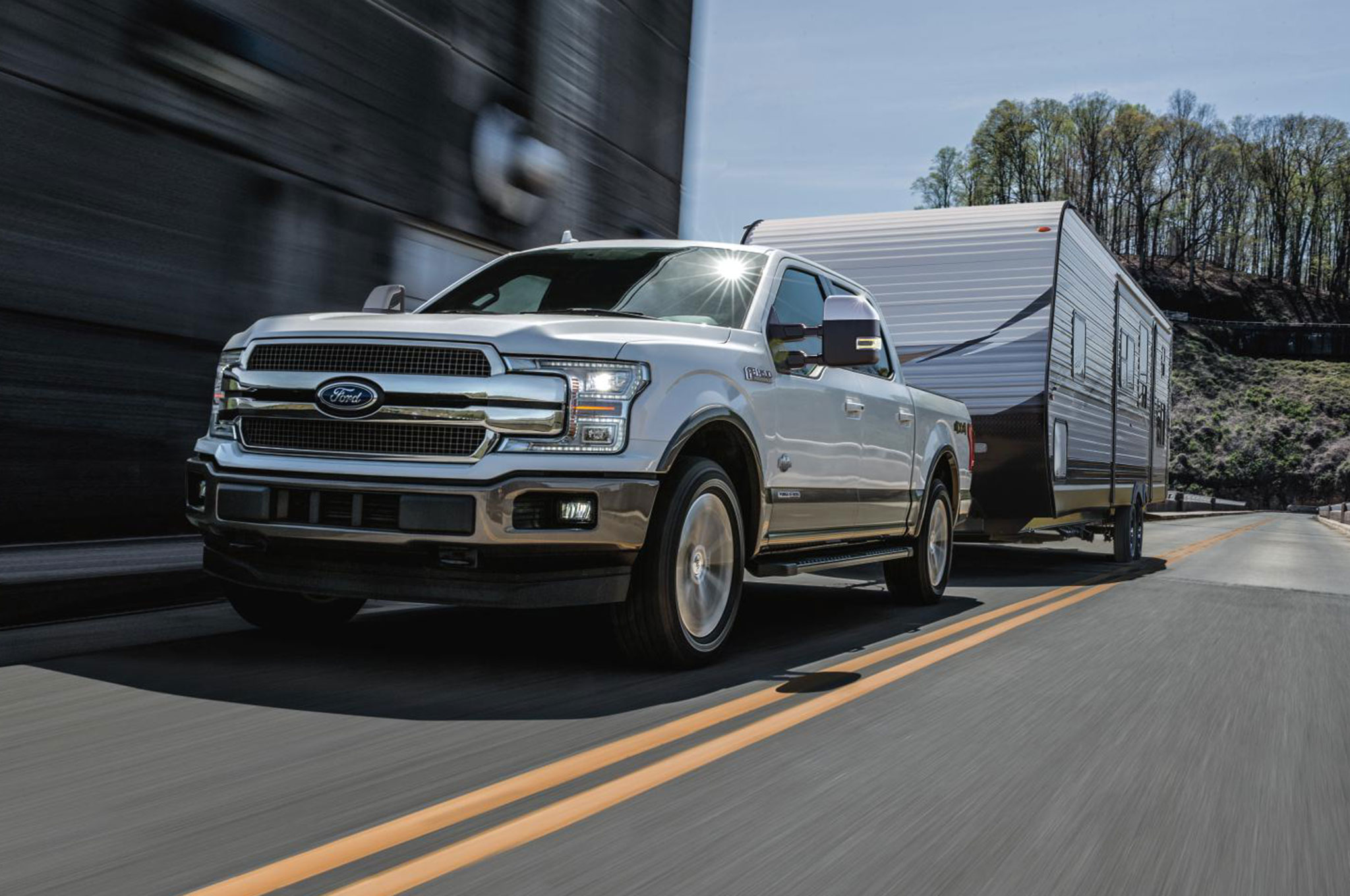 2018 Ford F 150 Diesel In White