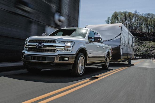 2018 Ford F 150 Diesel In White