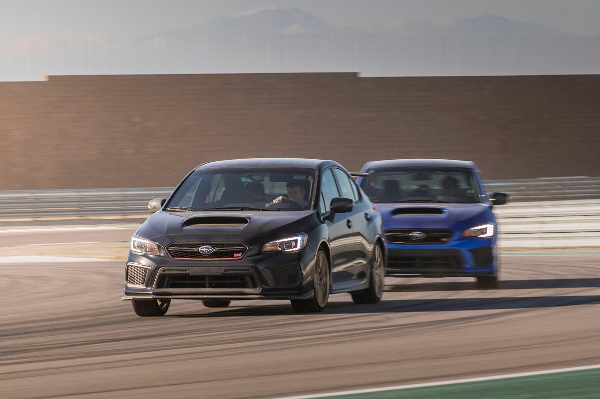 Subaru Wrx Sti 0-60 >> 2018 Subaru Wrx Sti Type Ra First Drive Review Automobile Magazine