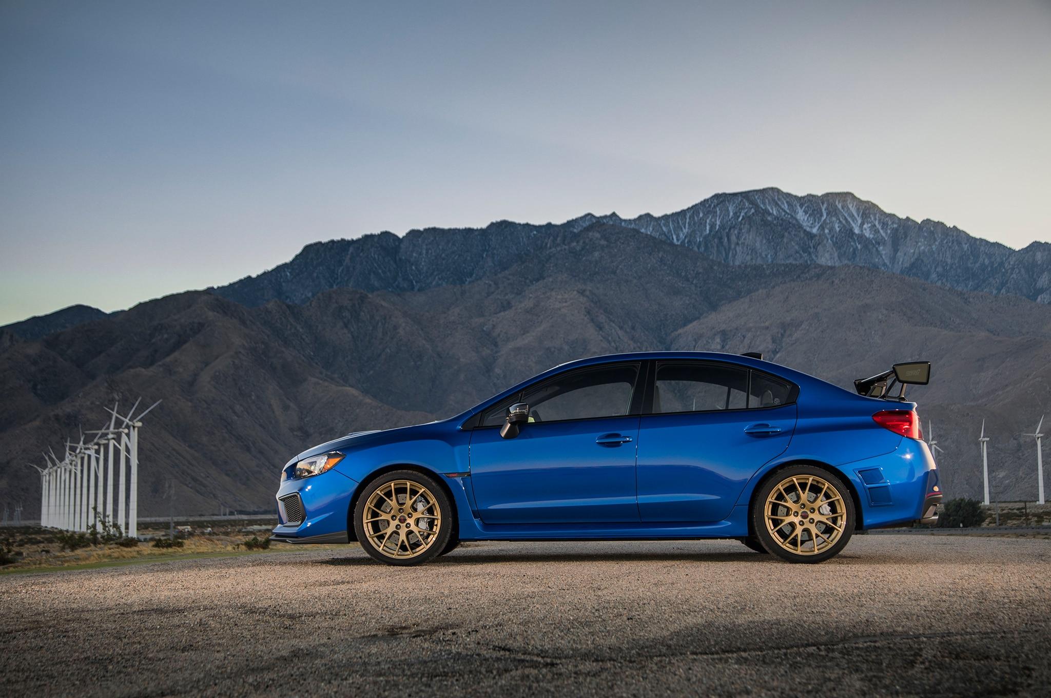 2018 Subaru Wrx Sti Type Ra First Drive Review Automobile Magazine