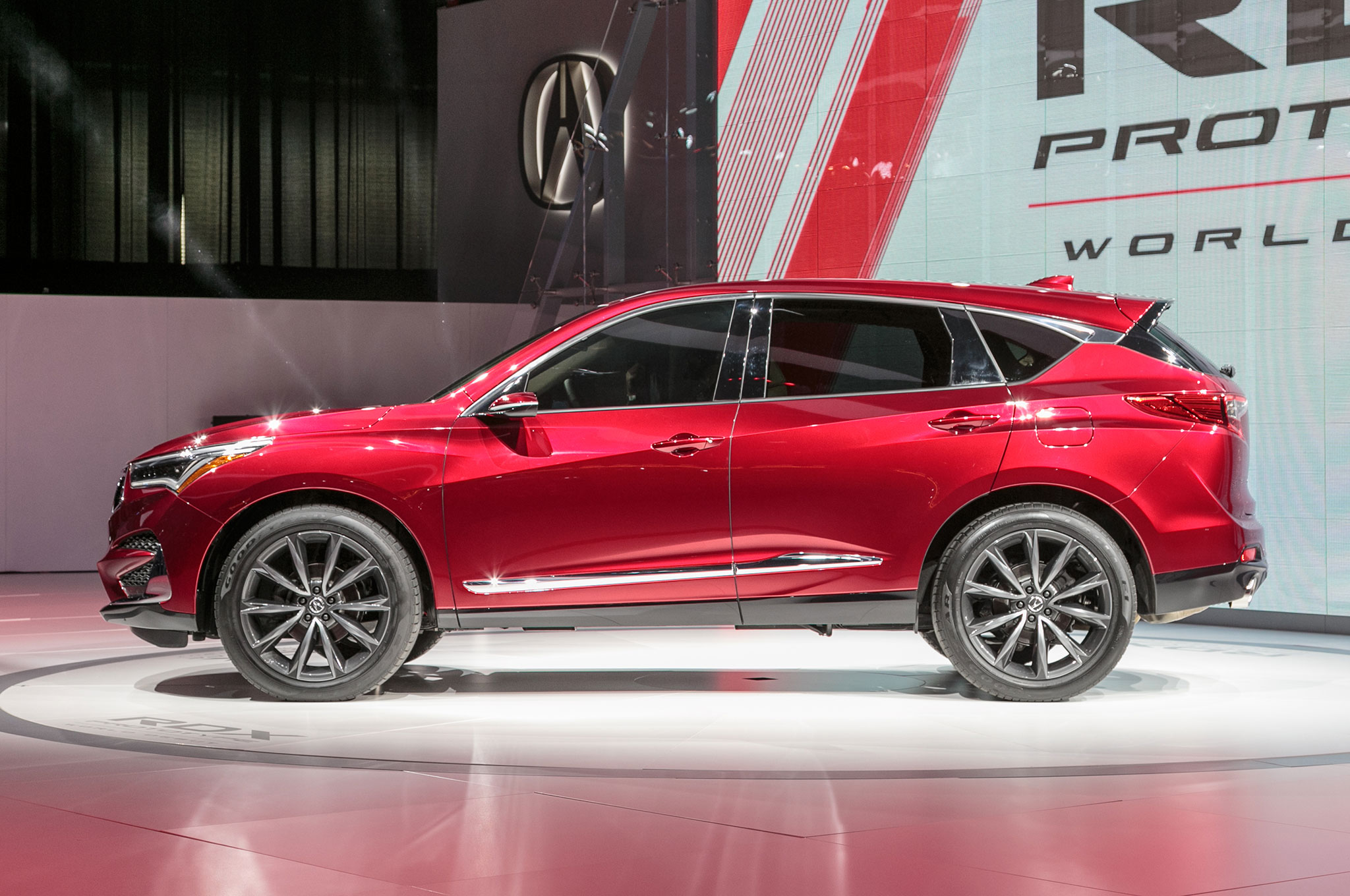 2019 Acura RDX Prototype Side View