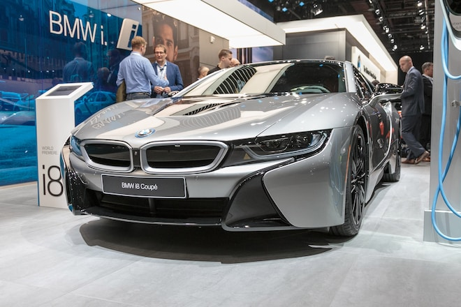 2019 BMW i8 Coupe and Roadster First Edition Debut in ...
