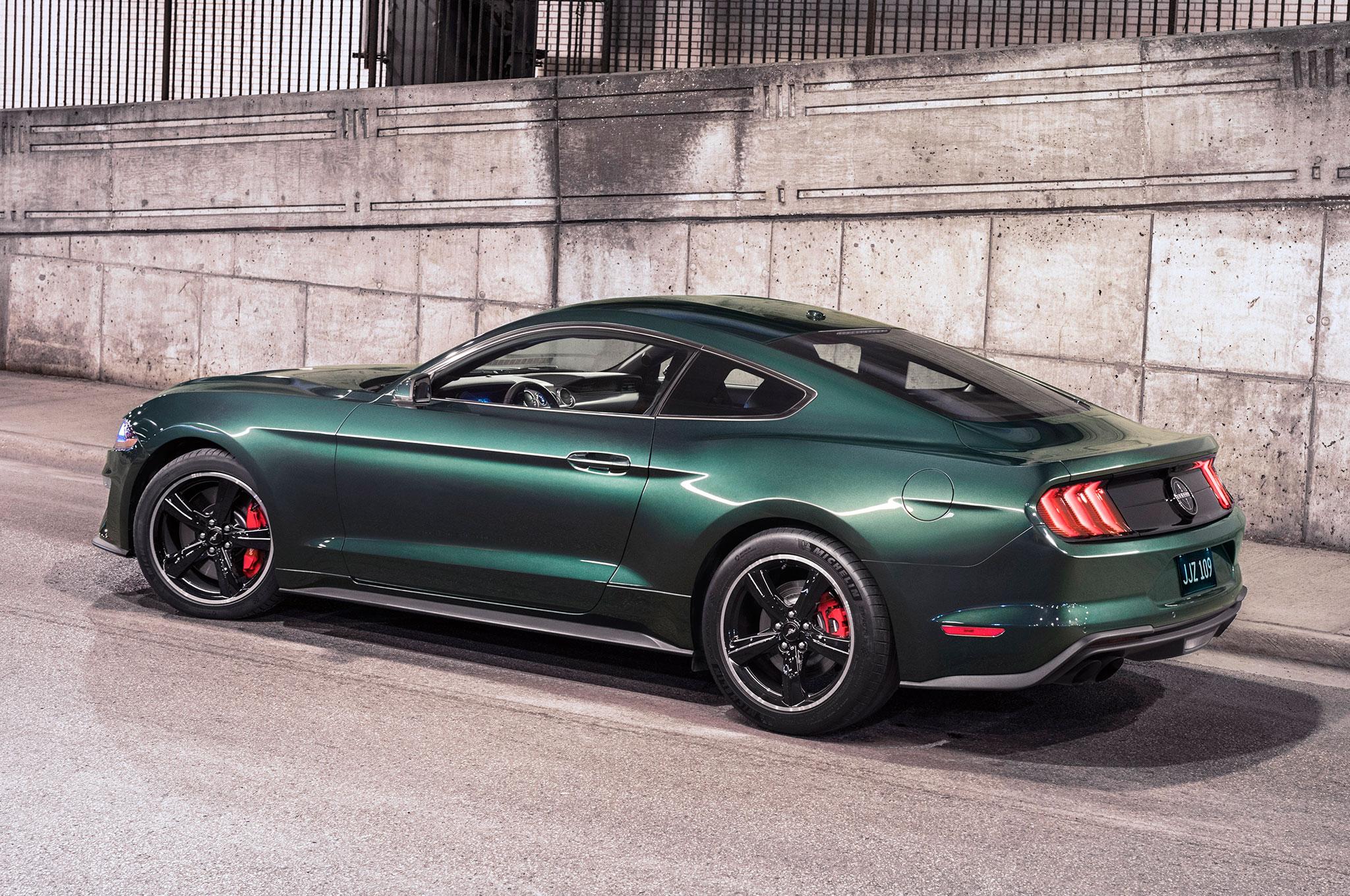 2019 Ford Mustang Sports Car The Bullitt Is Back >> 2019 Ford Mustang Bullitt Is Back For Film S 50th Automobile Magazine