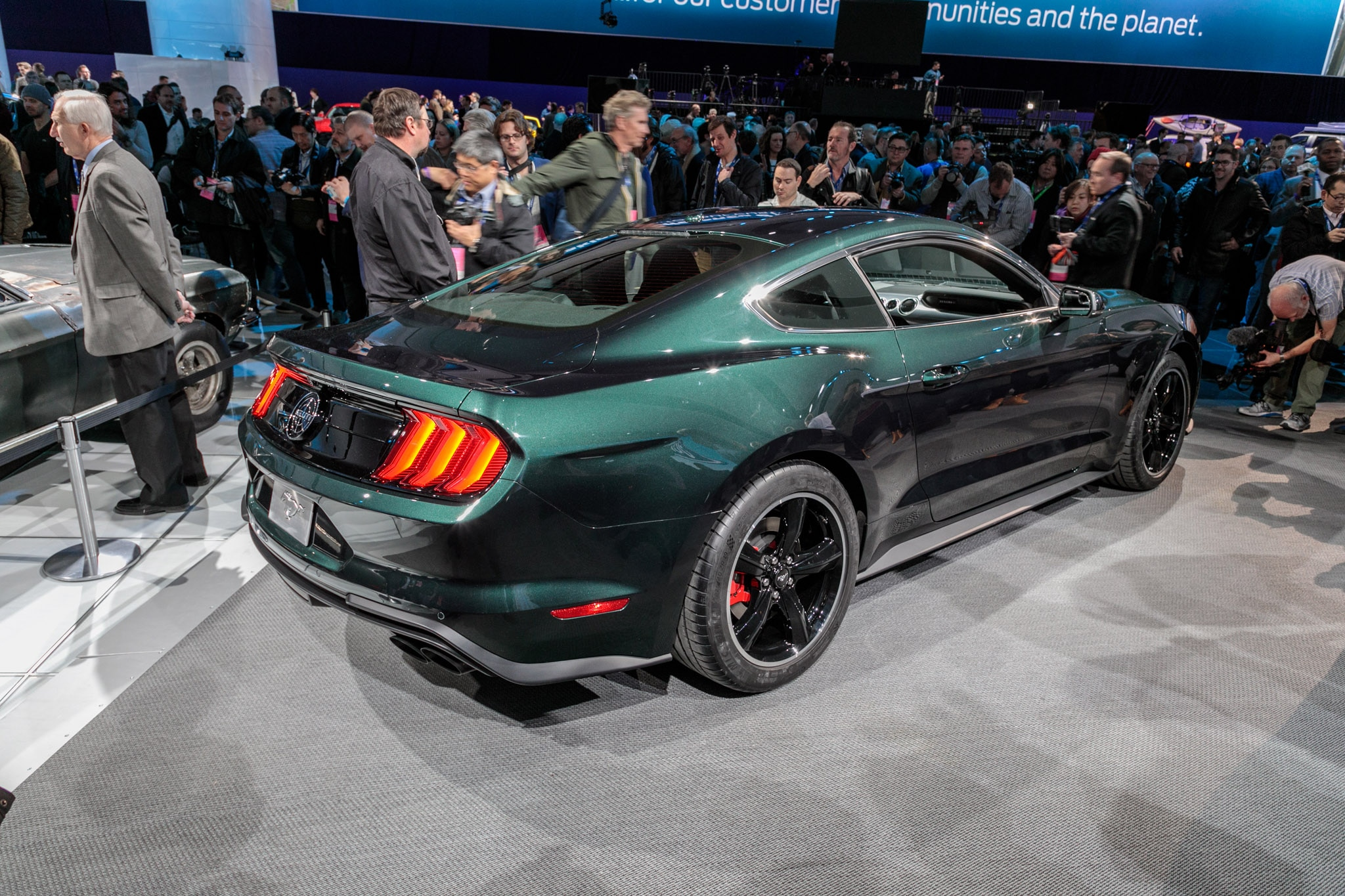 First 2019 Ford Mustang Bullitt Hammers for $300,000 at Auction | Automobile Magazine