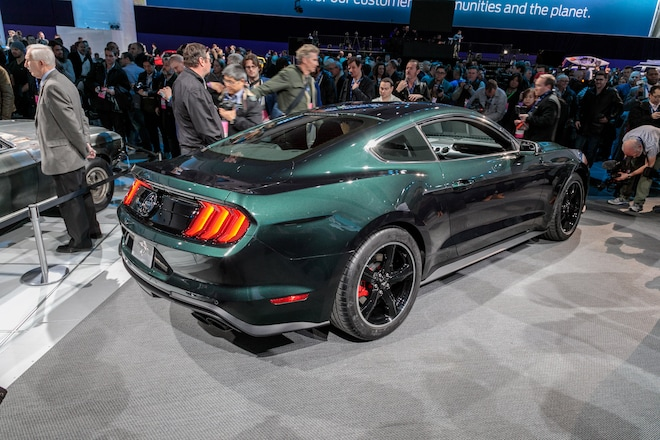 Molly Mcqueen Drives Up In 2019 Ford Mustang Bullitt Automobile