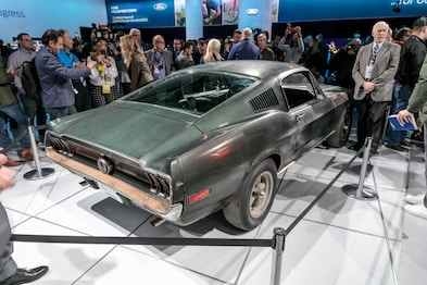 1968 Ford Mustang Fastback From Bullitt Is The Rusty Star Of The