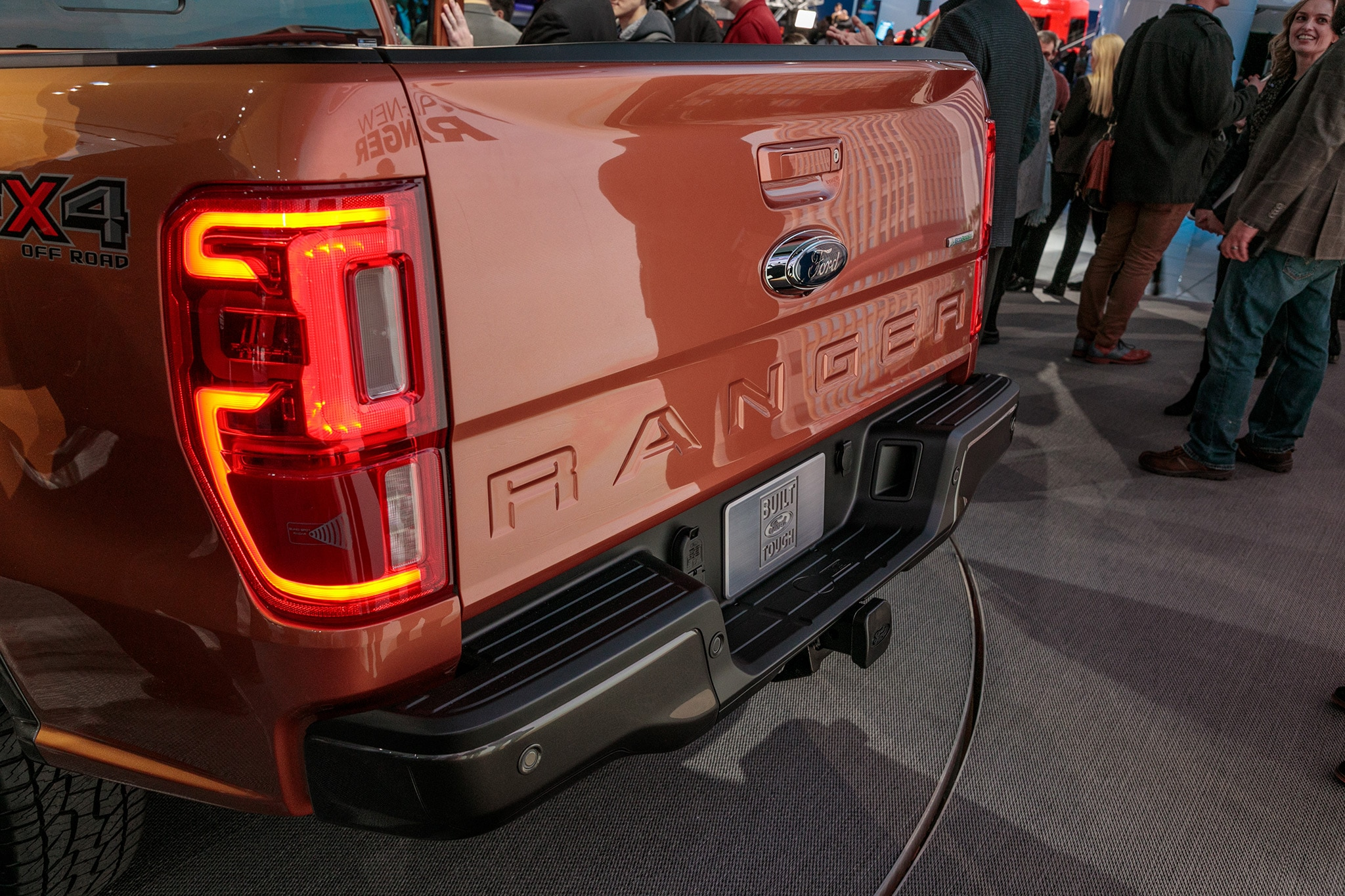 ford ranger arrives  dealerships early  year automobile magazine