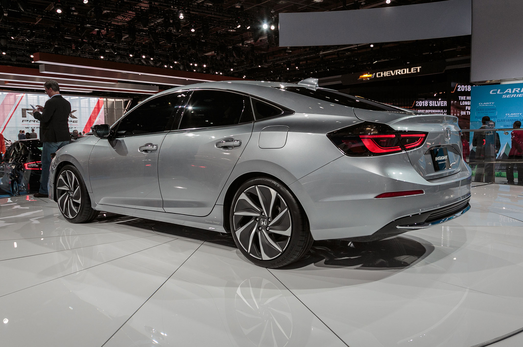 First 2019 Honda Insight Rolls Out Of Indiana Automobile