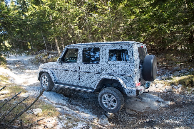 2019 Mercedes-Benz G-Class is As Boxy and Rugged As We Hoped