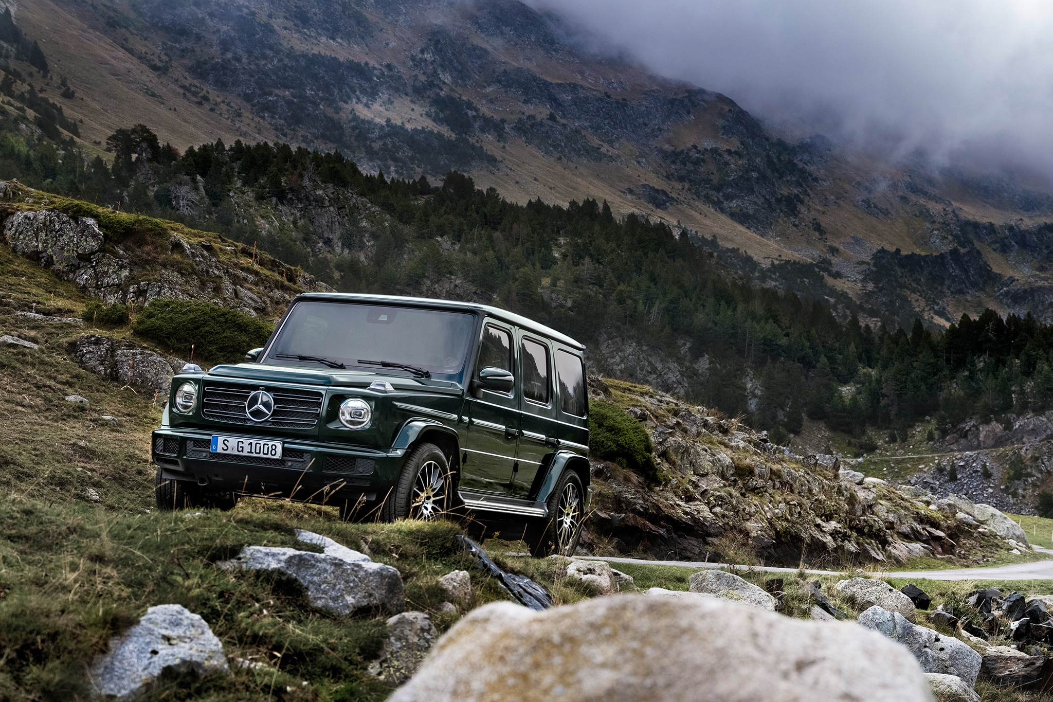 The All-New 2019 Mercedes-Benz G550 Debuts in Detroit ...