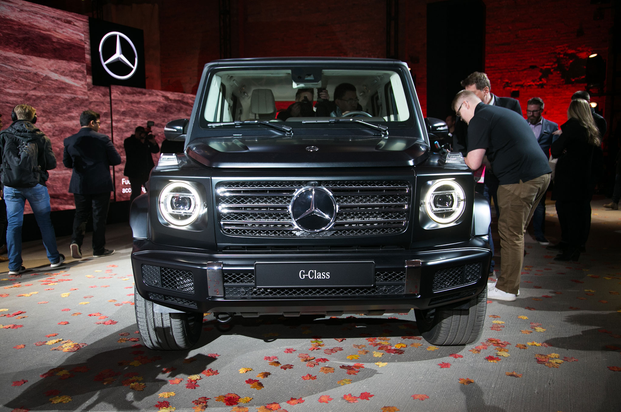 The All New 2019 Mercedes Benz G550 Debuts In Detroit