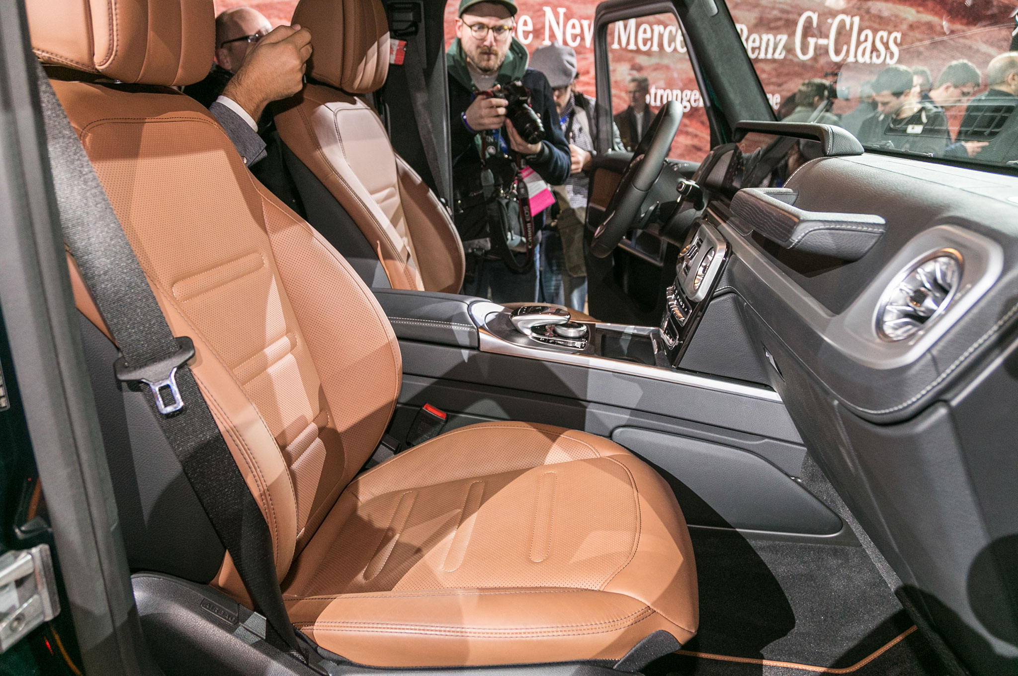 The All New 2019 Mercedes Benz G550 Debuts In Detroit Cuts Down On