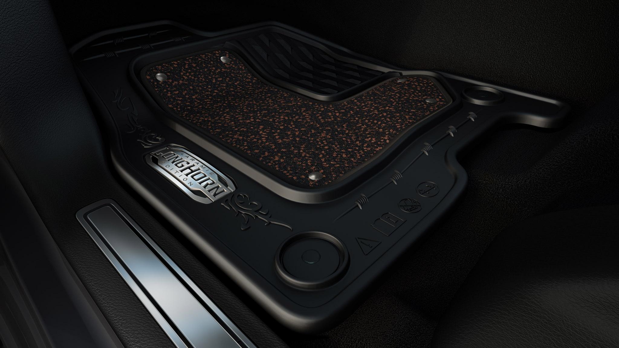 itm and regular rubber quad front ram floor slush mats floors cab oem