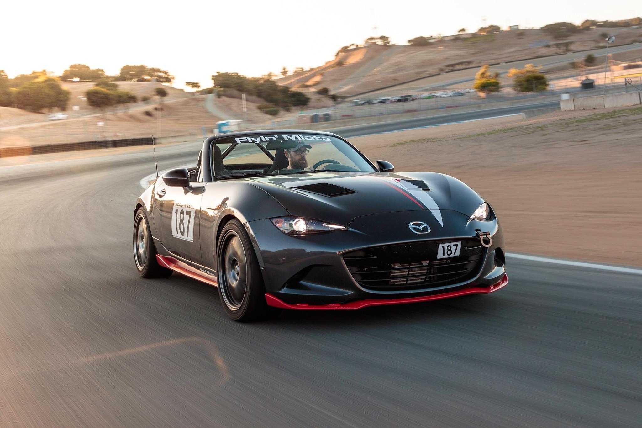 first drive: flyin' miata mx-5 rf turbo | automobile magazine