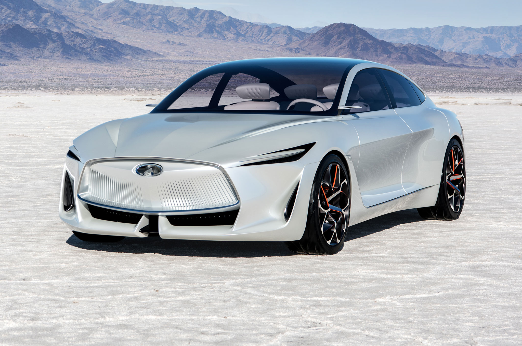 Infiniti Q Inspiration Concept Front Three Quarter View