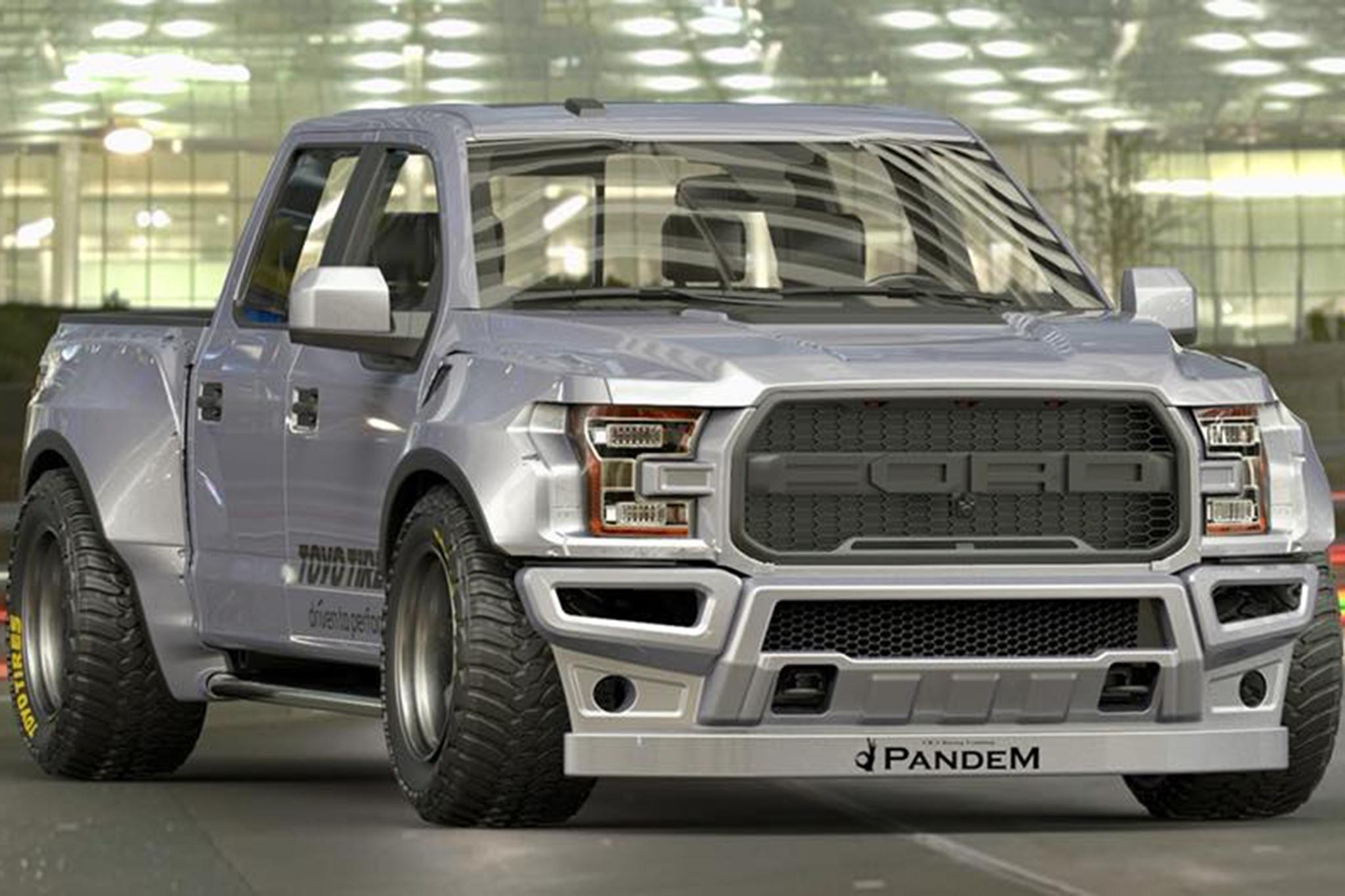 Pandem Ford Raptor
