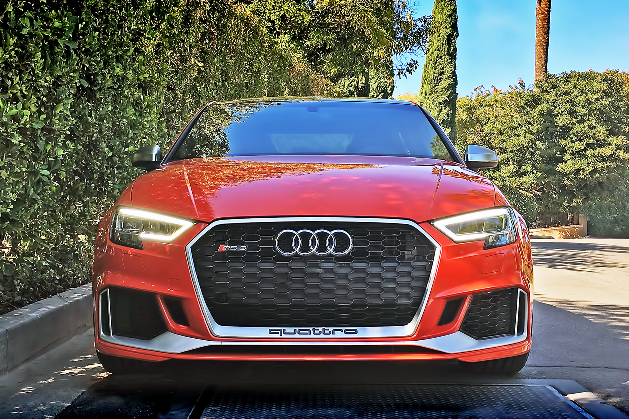 2017 Audi RS3 Front