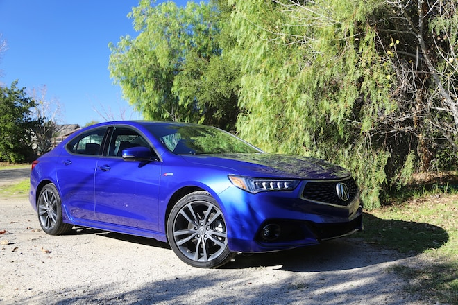 Escape To Wine Country In The 2018 Acura Tlx Awd A Spec Automobile