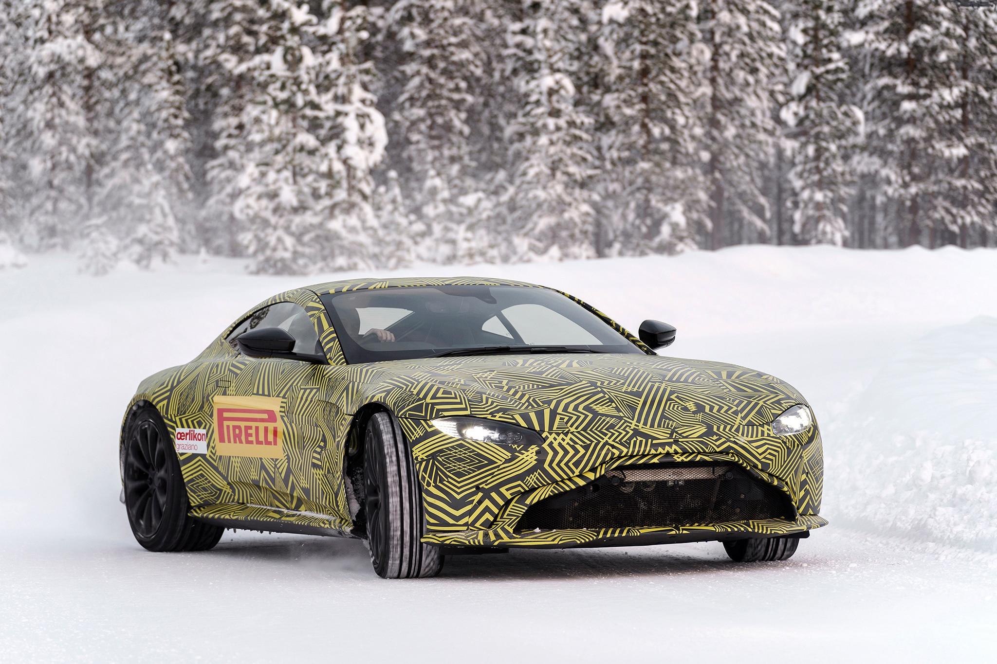 2018 Aston Martin Vantage Prototype 18